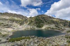 Τοπ άποψη των λιμνών Musalenski, βουνό Rila Στοκ Εικόνες