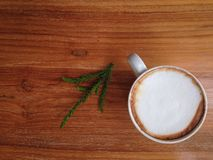 Τοπ άποψη φλυτζανιών Coffeecup Στοκ Εικόνες