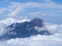 Τοπ βουνό Merapi Στοκ εικόνα με δικαίωμα ελεύθερης χρήσης