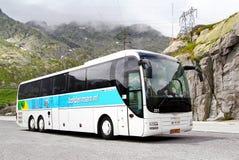 Τοπ λεωφορείο του λιονταριού ΑΤΟΜΩΝ R08 Στοκ Φωτογραφία