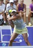 Τοπ παιχνίδι τενιστών της Garbine Muguruza στη Μαγιόρκα ανοικτή Στοκ Φωτογραφίες