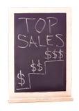 Τοπ σημάδι πωλήσεων Στοκ εικόνες με δικαίωμα ελεύθερης χρήσης