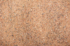 Τοπ σύσταση άμμου άποψης Στοκ Φωτογραφίες