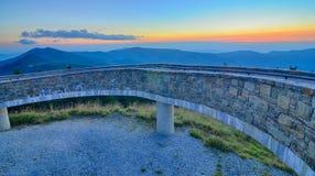 Τοπ τοποθετήστε mitchell πριν από το ηλιοβασίλεμα στοκ φωτογραφίες με δικαίωμα ελεύθερης χρήσης