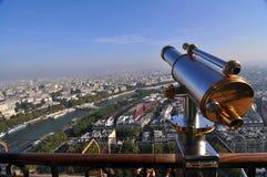Τοπ όψη από τον πύργο του Άιφελ στοκ φωτογραφία