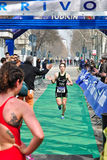 12η έκδοση του τροπαίου πόλεων του Τορίνου του triathlon Στοκ Εικόνες