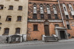ΤΟΡΟΥΝ, ΠΟΛΩΝΙΑ - 18 ΜΑΐΟΥ 2016: Παραδοσιακή αρχιτεκτονική σε διάσημο Στοκ φωτογραφίες με δικαίωμα ελεύθερης χρήσης