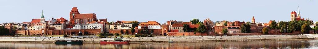 Τορούν, Πολωνία, παλαιά πόλη. Στοκ Φωτογραφία