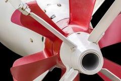 Τορπίλη tg-53 Drive σύστημα - λεπτομέρεια προωστήρων και χτυπημάτων - ISO Στοκ Φωτογραφίες