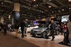 Τορόντο, Καναδάς - 2018-02-19: Έκθεση το 2018 καναδικό διεθνές AutoShow της Mercedes-Benz Στοκ Εικόνες