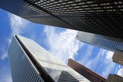 Τορόντο κεντρικός, Καναδάς, τράπεζες Στοκ φωτογραφία με δικαίωμα ελεύθερης χρήσης