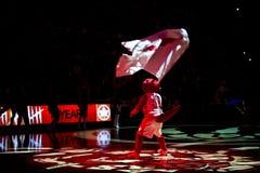 Τορόντο Rapters εναντίον του Λος Άντζελες Lakers Στοκ φωτογραφίες με δικαίωμα ελεύθερης χρήσης