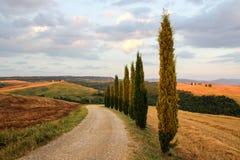 Τοσκάνη στην Ιταλία Στοκ Φωτογραφίες