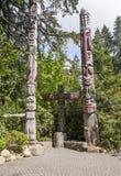 Τοτέμ - Καναδάς στοκ εικόνες