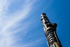Τοτέμ ουρανού Στοκ εικόνες με δικαίωμα ελεύθερης χρήσης