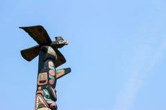 τοτέμ πόλων του Καναδά Στοκ εικόνες με δικαίωμα ελεύθερης χρήσης