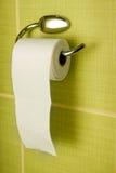 τουαλέτα εγγράφου Στοκ Φωτογραφίες