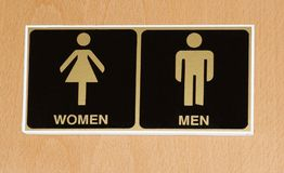 τουαλέτα εικονιδίων Στοκ φωτογραφία με δικαίωμα ελεύθερης χρήσης