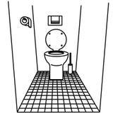 τουαλέτα Στοκ Φωτογραφίες