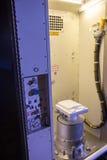 Τουαλέτα στο διαστημικό σκάφος Στοκ Εικόνες
