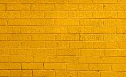 τουβλότοιχος κίτρινος Στοκ Φωτογραφίες