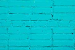 Τουβλότοιχος που χρωματίζεται Στοκ Φωτογραφία