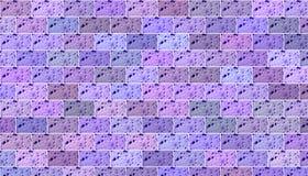 Τουβλότοιχος σύστασης για το πορφυρό χρώμα υποβάθρου οριζόντιο απεικόνιση αποθεμάτων