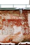 Τουβλότοιχος του παλαιού κτηρίου Στοκ εικόνες με δικαίωμα ελεύθερης χρήσης