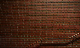 Τουβλότοιχος νύχτας Στοκ εικόνες με δικαίωμα ελεύθερης χρήσης