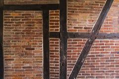 Τουβλότοιχος παλαιός Στοκ Φωτογραφίες