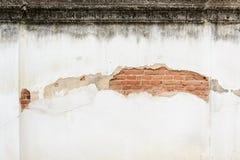 Τουβλότοιχος που σπάζουν παλαιός Στοκ φωτογραφία με δικαίωμα ελεύθερης χρήσης