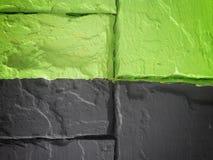 Τουβλότοιχος που χρωματίζεται Στοκ εικόνα με δικαίωμα ελεύθερης χρήσης