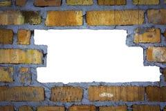 Τουβλότοιχος στενός Στοκ φωτογραφία με δικαίωμα ελεύθερης χρήσης