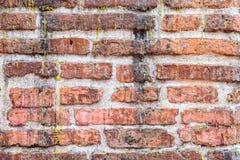 Τουβλότοιχος Grunge βρώμικος με το στάλαγμα κεριών στοκ φωτογραφία με δικαίωμα ελεύθερης χρήσης