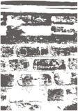 Τουβλότοιχος Grunge σύστασης Αντικείμενο για να δημιουργήσει τη στενοχωρημένη επίδραση Στοκ φωτογραφία με δικαίωμα ελεύθερης χρήσης