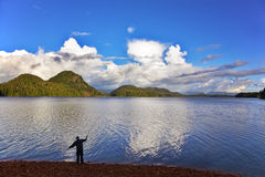τουρίστας ακτών Στοκ Φωτογραφίες