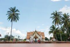 Τουρίστας που επισκέπτεται Wat Phumin Στοκ εικόνες με δικαίωμα ελεύθερης χρήσης