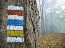 τουρίστας σημαδιών Στοκ εικόνες με δικαίωμα ελεύθερης χρήσης