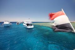 τουρίστας σκαφών Στοκ εικόνες με δικαίωμα ελεύθερης χρήσης