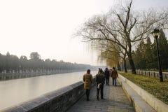 Τουρίστας στο Πεκίνο Κίνα Στοκ Φωτογραφίες
