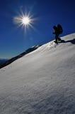 τουρίστας χιονιού βουν&om Στοκ φωτογραφία με δικαίωμα ελεύθερης χρήσης