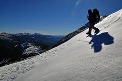 τουρίστας χιονιού βουν&om Στοκ Φωτογραφίες