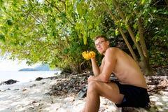 Τουρίστας Koh στο νησί Poda Στοκ φωτογραφίες με δικαίωμα ελεύθερης χρήσης