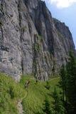 τουρίστες βουνών Στοκ Εικόνα