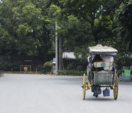 Τουρίστες που οδηγούν ένα Carromata Στοκ Εικόνες