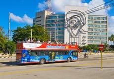 Τουρίστες στην Αβάνα, Κούβα Στοκ φωτογραφία με δικαίωμα ελεύθερης χρήσης