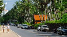 Τουρίστες στις οδούς Phuket απόθεμα βίντεο