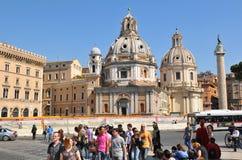 τουρίστες της Ρώμης Στοκ φωτογραφία με δικαίωμα ελεύθερης χρήσης