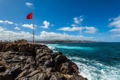 Τουρισμός και ταξίδι Κανάρια νησιά tenerife στοκ φωτογραφίες