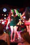 Τουρισμός με στόχο την αναζήτηση της ερωτικής απόλαυσης σε Patong, Ταϊλάνδη Στοκ Εικόνες
